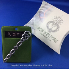 Argyll Interlace Kilt Pin Antiqued