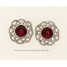 Birthstone Earrings Celtic