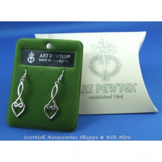 Celtic Interlace Drop Earrings