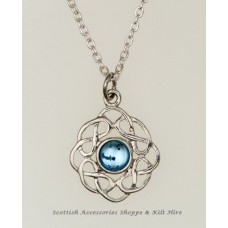 Birthstone Pendant Celtic