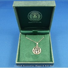 Charles Rennie Mackintosh Glasgow Rose Pendant