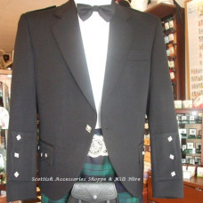 Hire Black Braemar Jacket