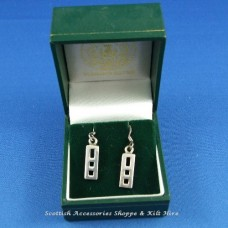 Charles Rennie Mackintosh Drop Earrings