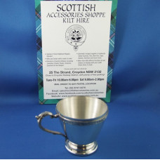 Christening Cup with Celtic Band