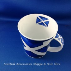 Saltire Fine Bone China Mug
