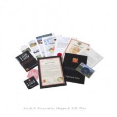 Highland Titles - Souvenir Plots of Land (1sq ft.) - A Novelty Gift