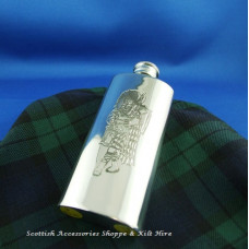 Boot Flask  Scottish Piper