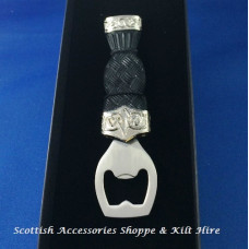 Celtic Plain Top Sgian Dubh Bottle Opener