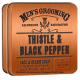 Thistle & Black Pepper Face & Beard Soap 100gm