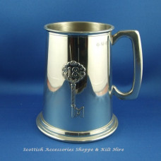 Pewter Tankard 18th Key