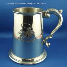 Pewter Tankard 'Best man'