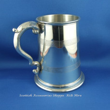 Pewter Tankard Celtic Band