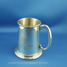 Page Boy Pewter Mug