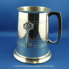 Pewter Tankard 18th Key Badge