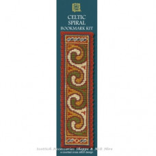 Bookmark Celtic Swirl Terracotta