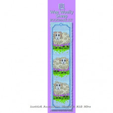 Bookmark Woolly Sheep