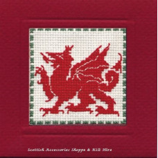 Miniature Card Welsh Dragon