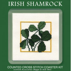Coaster - Irish Shamrock