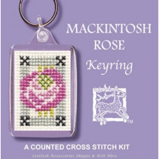 Keyring - Mackintosh Rose