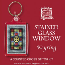 Keyring - Stained Glass Window