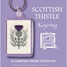 Keyring - Scottish Thistle