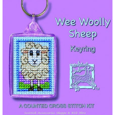 Keyring - Wee Woolly Sheep