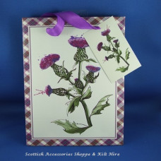 Thistles Paper Gift Bag