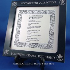 Pot Stand - A Celtic Blessing