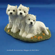 Westie Dog Figurine