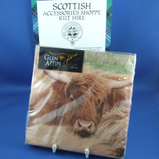 Highland Cow Photo Paper Napkin