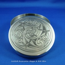 Pewter Trinket Box Celtic Design