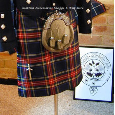 Traditional 8 yard Medium Wt. Kilt