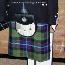 Traditional 8 yard Medium Wt. Kilt O/S
