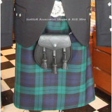 Traditional 8 yard Medium Wt. Kilt XO/S