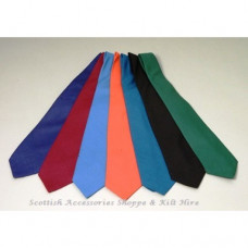 Worsted Wool Ties Plain Colours
