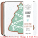 Silver Pine Festive Cookie Soap