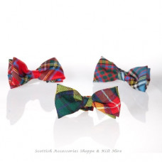 Tartan Gents Bow Ties Wool