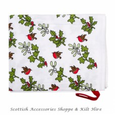Holly & Ivy Christmas Tea Towel